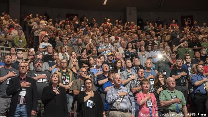 USA Donald Trump besucht NRA