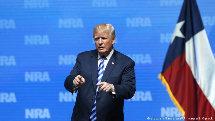 Trump'tan silah lobisine destek