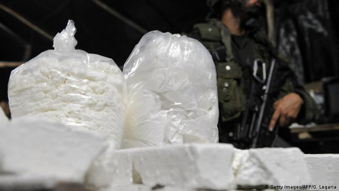 Symbolbild Drogenfund Kokain