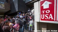 Flüchtlinge US-Grenze bei Tijuana