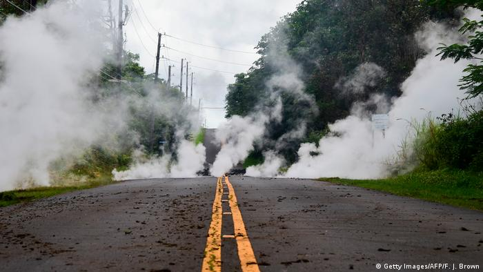 Hawaii Vulkanausbruch (Getty Images/AFP/F. J. Brown)