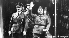 Treffen Hitler und Franco 1940 in Hendaye