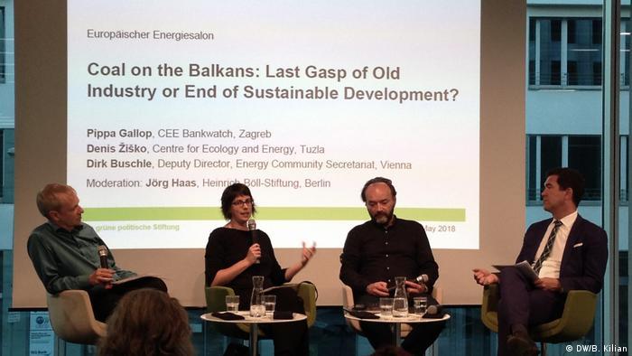 Konferenz Neue Kohle auf dem Balkan