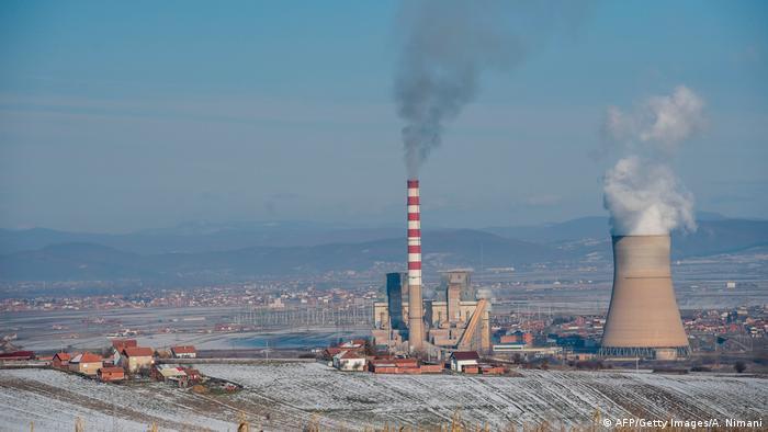 Kohlekraftwerk in Obilic, Serbien (AFP/Getty Images/A. Nimani)