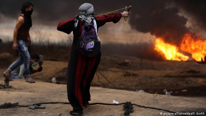 Proteste an Gaza-Grenze