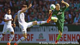 Fußball Bundesliga Leverkusen Werder Bremen