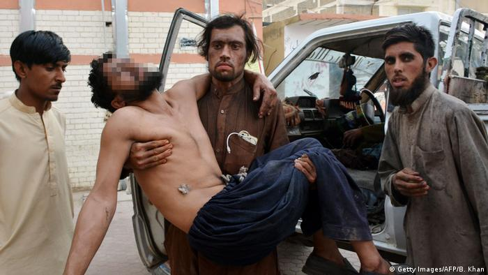 Pakistan Mindestens 16 Tote bei Explosion in Kohlegrube (Getty Images/AFP/B. Khan)