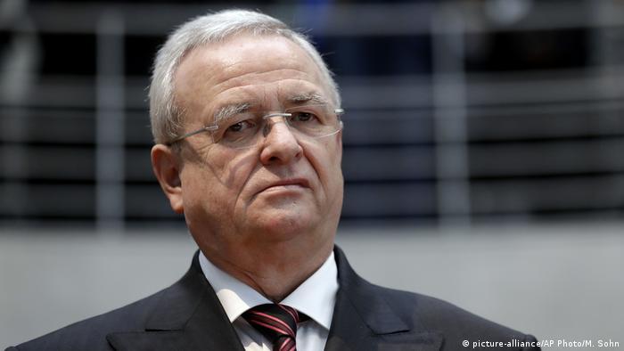 Ex-presidente-executivo do Grupo Volkswagen Martin Winterkorn