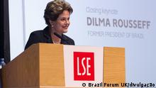 Großbritannien London - Brazil Forum UK 2018 mit Präsidentin Dilma Rousseff
