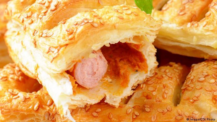 Britisches Gericht - Sausage Rolls