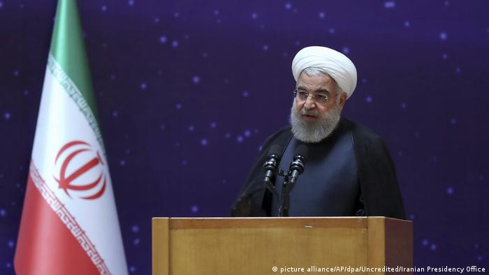 Präsident Hassan Ruhani (picture alliance/AP/dpa/Uncredited/Iranian Presidency Office)