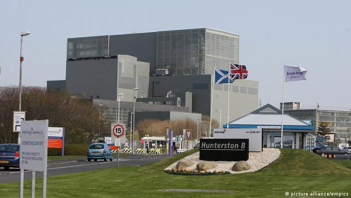 Hunterston B Nuclear Power Station in Scotland