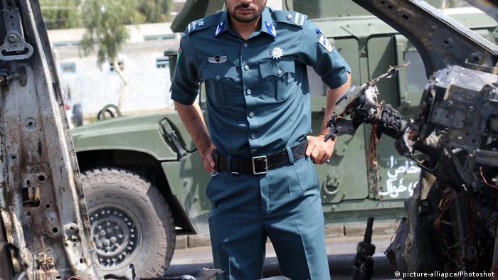Afghanistan Autobombe in Kandahar (picture-alliance/Photoshot)
