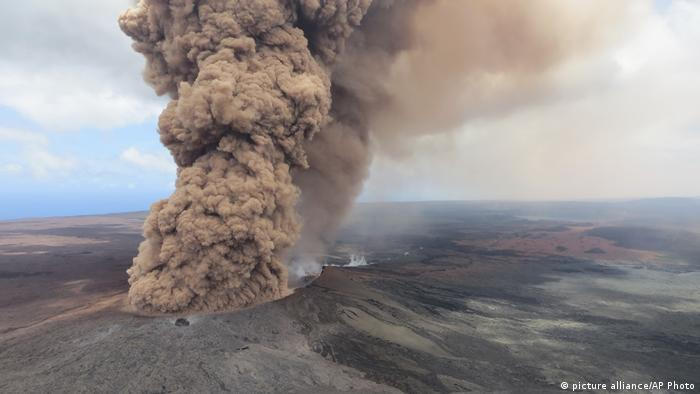 Hawaii Vulkanausbruch Kilauea (picture alliance/AP Photo)