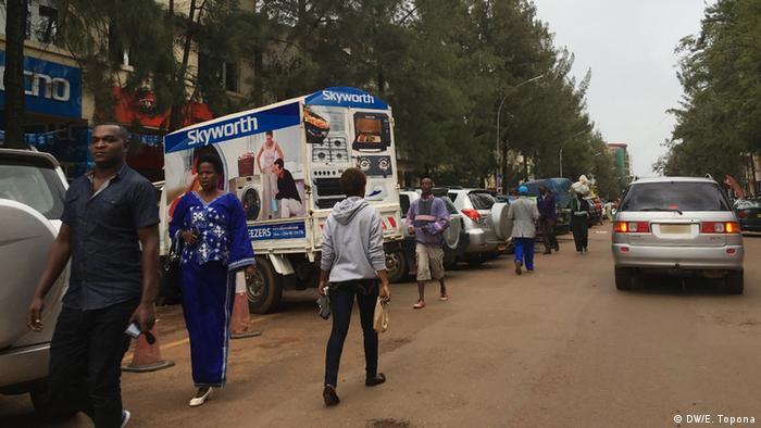 Stadt Kigali Ruanda (DW/E. Topona)