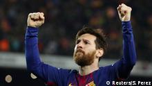 Spanien La Liga FC Barcelona v Real Madrid Tor Messi 2:1