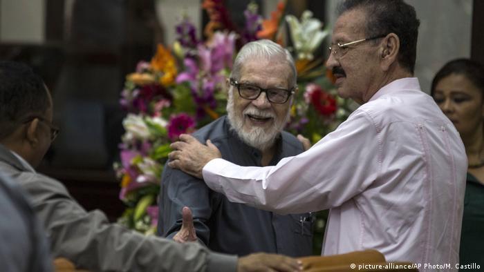 Nicaragua Untersuchungskommission zu gewaltsamen Unruhen (picture-alliance/AP Photo/M. Castillo)