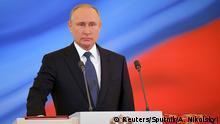 Russland Putin Amtseinführung