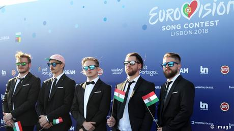 Eurovision Songcontest AWS from Hungary (Imago)