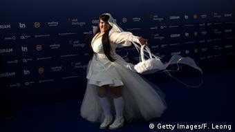 Netta Barzilai of Israel, candidate for the Eurovision Song Contest Eurovision Song contest