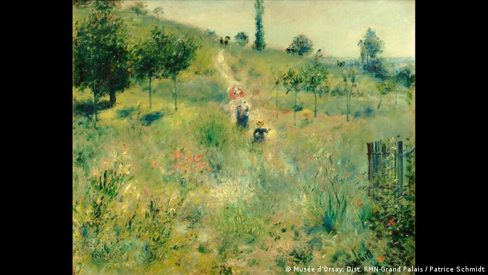 August Renoir painting shows people hiking through high grass (Musée d'Orsay, Dist. RMN-Grand Palais / Patrice Schmidt)