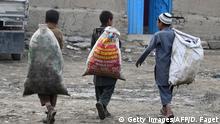 Afghanistan Mülldeponie am Shuhada-See in Kabul