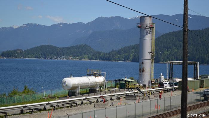 Kanada TransMountain Pipeline