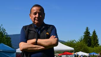 Kanada TransMountain Pipeline | Grand Chief Stewart Phillip (DW/E. O'Neil)