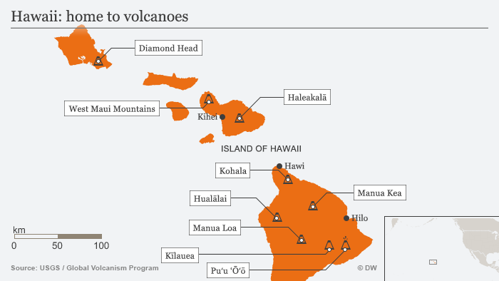 Hawaii: More volcanic explosions expected Big Island | News | DW ...