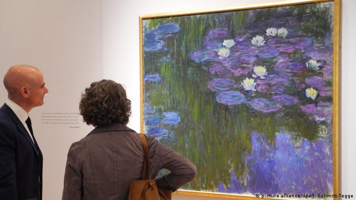 water lilies painting by Monet