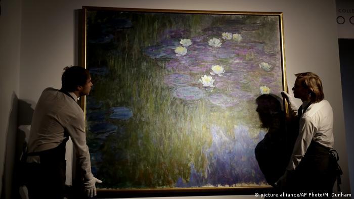 Gemälde Nympheas en fleur von Monet
