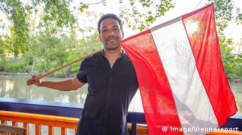 Cesar Sampson of Austria, candidate for the Eurovision Song Contest
