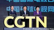 China Start von CGTN - Eröffnungsveranstaltung
