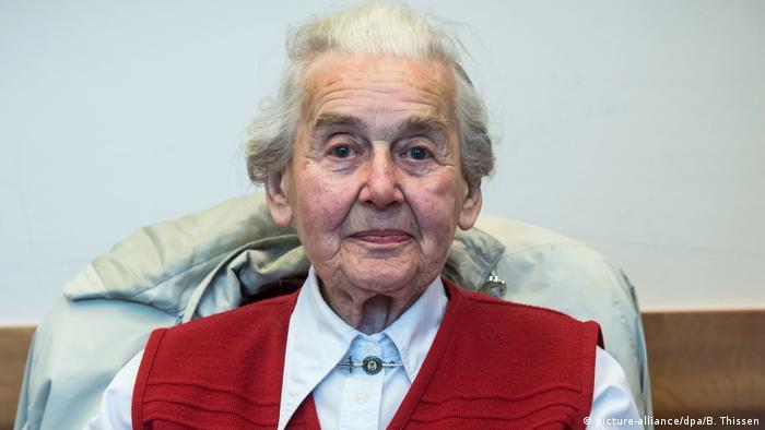 Convicted Holocaust denier Ursula Haverbeck