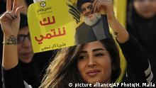 Libanon Hisbollah-Lager siegt bei Parlamentswahl (picture alliance/AP Photo/H. Malla)
