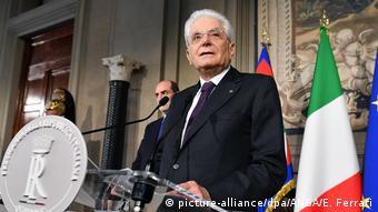 Άκαρπες απέβησαν οι προσπάθειες του ιταλού προέδρου Ματαρέλα για σχηματισμό κυβέρνησης