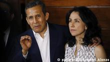 Peru Lima Ollanta Humala und Nadine Heredia