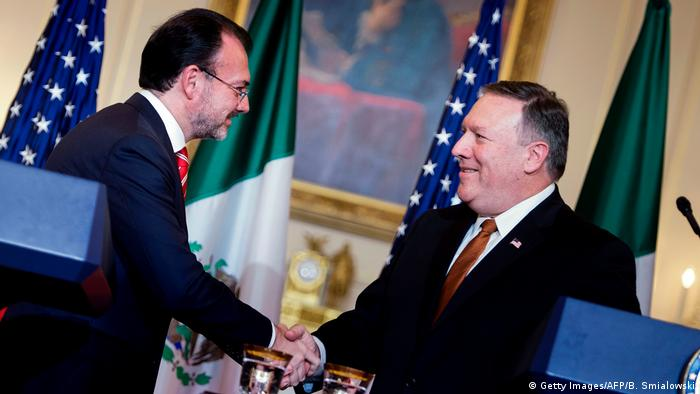 USA Washington Mike Pompeo empfängt Luis Videgaray (Getty Images/AFP/B. Smialowski)