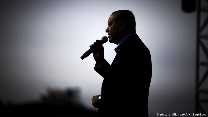 Türkei Kayseri Präsident Erdogan