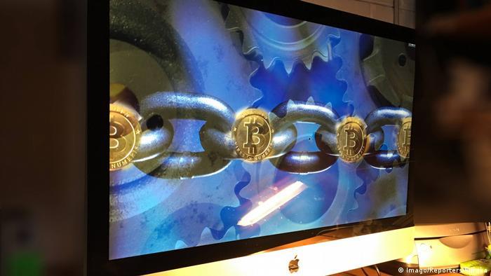 Symbolbild Blockchain (Imago/Reporters/Eureka)