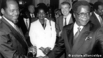 Friedensvertrag beendet Bürgerkrieg in Mosambik (picture-alliance/dpa)