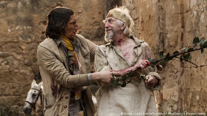 Cena do filme 'The Man Who Killed Don Quixote', de Terry Gilliam