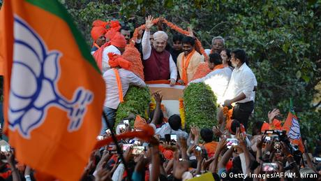 Indien Karnataka Wahlen (Getty Images/AFP/M. Kiran)