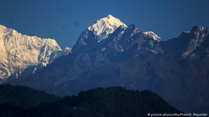 Indien Berg Kangchenjunga (picture-alliance/NurPhoto/S. Majumder)