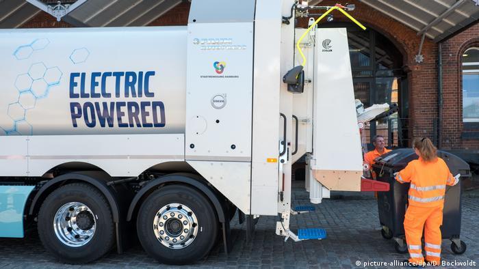 Электрический мусоровоз Volvo