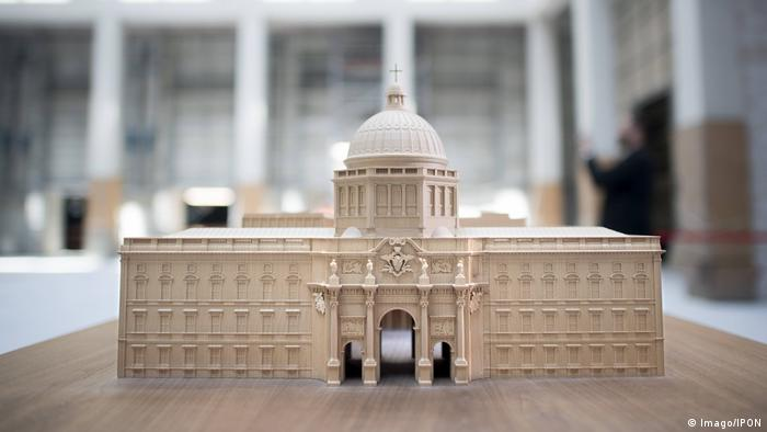 A model of the Humboldt Forum (Imago/IPON)