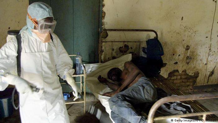 Kongo Ausbruch von Ebola