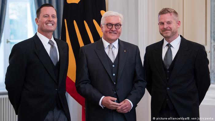 Deutaschland Bundespräsident Frank-Walter Steinmeier akkreditiert Botschafter