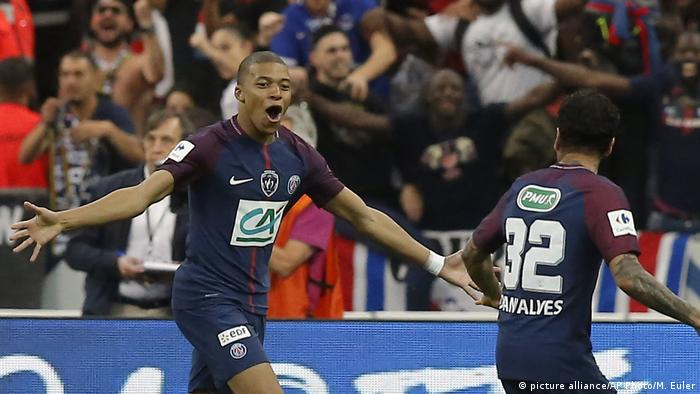 Frankreich Fussball Pokalfinale PSG - Les Herbiers (picture alliance/AP Photo/M. Euler)