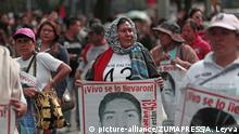 Mexiko Protest für Aufklärung der Morde an Studenten